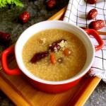 红枣桂圆小米粥