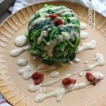 焙煎芝麻菠菜墩