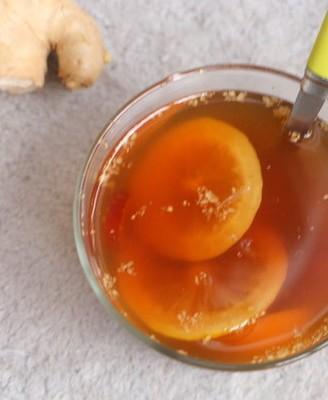 柠檬红糖姜枣茶