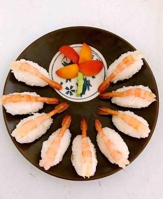 北极甜虾寿司