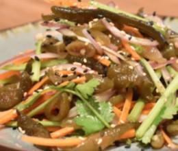 一道来自深海的减肥菜:凉拌海茸