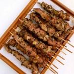 自制电烤羊肉串