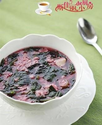 苋菜疙瘩汤#美的智能冰箱#