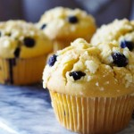 金顶蓝莓麦芬