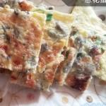 海蛎子葱花蛋饼