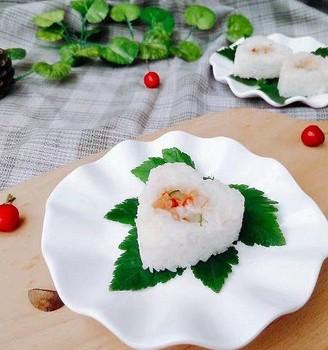 简易版爱心小寿司