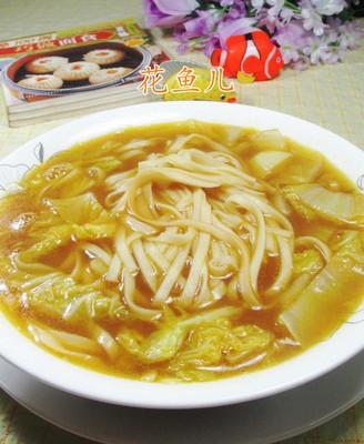 咖喱娃娃菜汤面