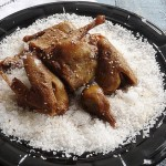 鹽焗沙姜乳鴿