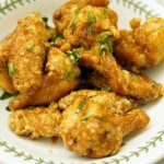 韩式蒜味炸鸡