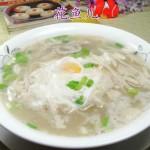 蘑菇鸡蛋汤面