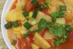 柿子土豆片