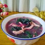 红芥菜鸡汤