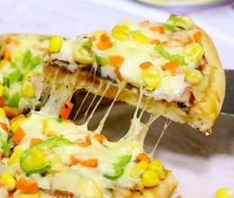 培根口蘑田园披萨