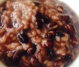 黑豆大米粥