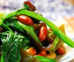 凉拌什锦菠菜