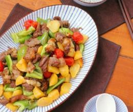 土豆烤羊肉