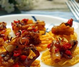 鱿鱼风味薯片