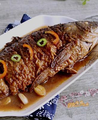 私房烧鲤鱼