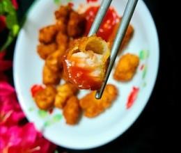 自制干净卫生的炸鸡米花