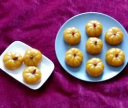蒸糯米南瓜饼