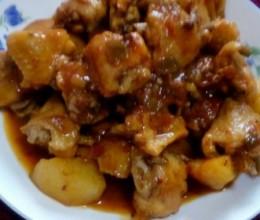 香辣鸡翅土豆