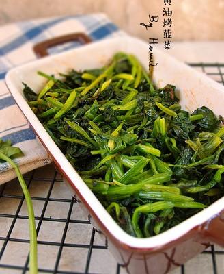 黄油烤菠菜