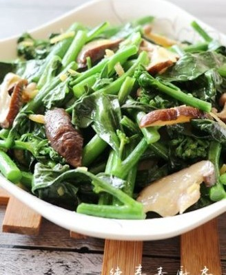 香菇芥蓝菜