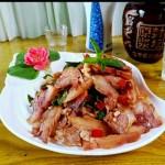 香菜拌猪头肉
