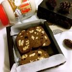 焦糖可可核桃饼干