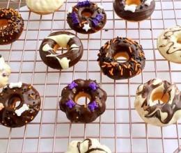 棉花糖版巧克力甜甜圈