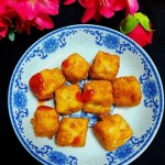 外酥里嫩的脆皮豆腐