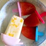 芒果酸奶雪糕、西瓜雪糕