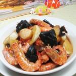 黑木耳茭白基围虾