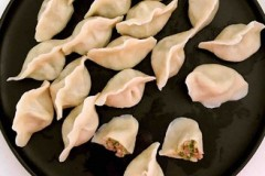 麻椒猪肉馅水饺