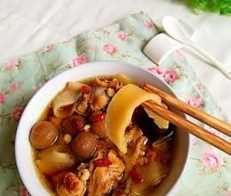 椰子炖鸡#霸王超市#