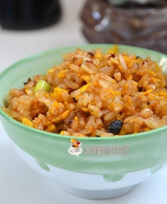 老干妈豆豉炒米饭
