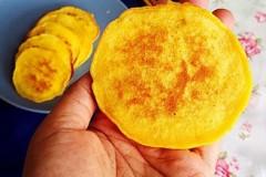 南瓜淡奶饼