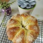 酸奶花朵面包