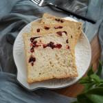 蔓越莓褐麦土司