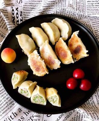 香葱猪肉煎饺