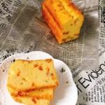 松软香甜的橙皮丁磅蛋糕