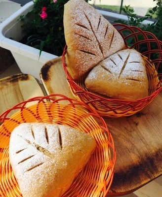 全麦蔓越莓红糖面包