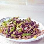 咸菜炒牛肉丝