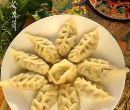 婆婆丁馅麦穗饺子