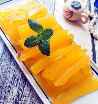 清新爽口——橙汁瓜条