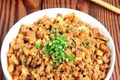 肉末豆干香菇酱