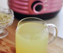 姜汁蜂蜜水