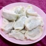 鳕鱼韭菜馅水饺