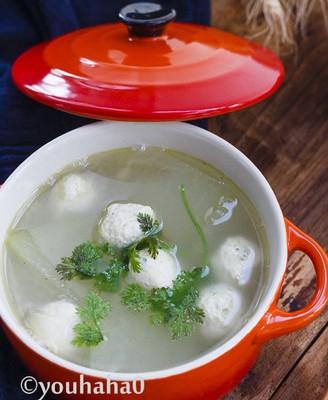 冬瓜鸡丸汤