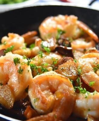 西班牙蒜蓉大虾